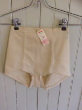 NWT vintage Classic Subtract 2541 tan small panty pantie girdle