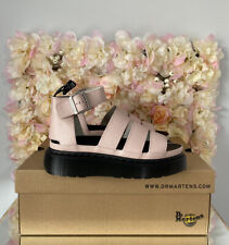 Dr Martens Clarissa Leather Pink Sandals, UK 5, BRAND NEW, Discontinued, RARE