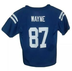 NFL Indianapolis Colts #87 Reggie Wayne Replica Jersey! Youth (7).