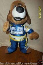 "Aaron's 10"" Lucky Dog Stuffed Plush Mascot NASCAR"