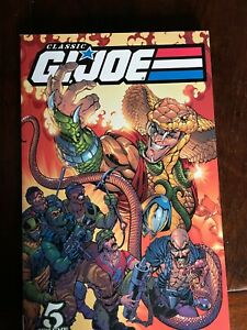 Classic G.I. JOE: A Real American Hero Vol. 5 Marvel TPB