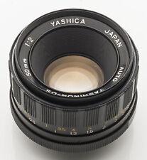 Yashica Auto Yashinon-DS Yashinon DS 2 1:2 2 50 mm 50mm M42 M 42