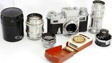 Contax III + 1:4/135mm + 1:2/85mm + 2:8/35mm + 1:2/50mm Lenses + ZEISS Ikophot
