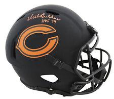 """Bears Dick Butkus """"HOF 79"""" Signed Eclipse Full Size Speed Rep Helmet JSA Witness"""