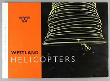 WESTLAND HELICOPTERS MANUFACTURERS BROCHURE WIDGEON WESSEX WHIRLWIND WASP SCOUT