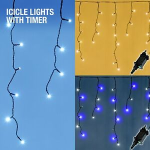 Icicle Lights Outdoor Christmas Xmas LED House Fairy 240/360/480/1000/2000 LEDs