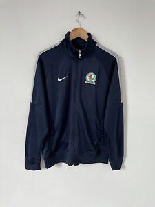 Blackburn Rovers Nike Track Top Full Zip Club Trainer Jacket Size Large