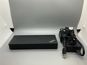 Lenovo ThinkPad 40AS0090US USB-C Gen 2 Docking Station