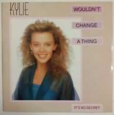 "Kylie Minogue Wouldn't Change A Thing Maxisingle 12"" Holanda 1989"