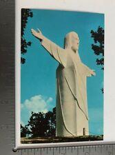 Vintage Postcard The Christ of the Ozarks Magnetic Mountain Arkansas