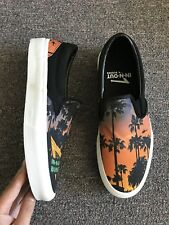 Straye In N Out Burger California Dreaming Canvas men's sz 10 Limited Ed slip on
