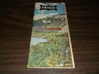 OCTOBER 1959 SLSF FRISCO SYSTEM PUBLIC TIMETABLE