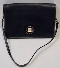 Kate SPADE neri in pelle con marchio con risvolto superiore Catena & leather Tracolla Borsa
