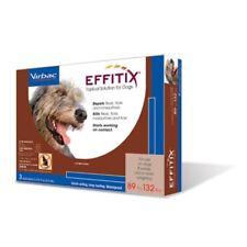 EFFITIX  Topical for Dogs Kills Repels Ticks Fleas Fipronil 89-132lb 3 Doses