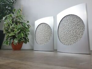 Bang & Olufsen / B&O BeoLab 17 WISA Wireless Speakers - Silver / White