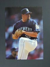 Mike Fetters 1995 Fleer Ultra No Name Missing Foil Error Milwaukee Brewers