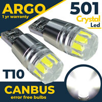 Fits Volvo C30 Side light Bulbs Led Bright White Xenon Sidelight Bulbs Lamps 12v