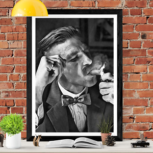 Arthur Shelby Sketch Peaky Blinders Sketch Art Picture Poster Print
