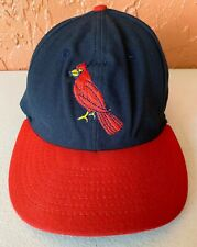 Vintage St Louis Cardinals Cooperstown Collection Fitted Hat Sz 7 1/8 By Roman