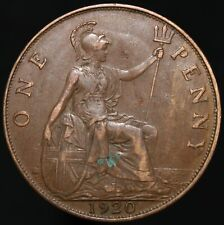 More details for 1920 | george v one penny | bronze | coins | km coins