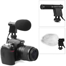 For Canon Microphon  Rebel Directional MIC  T6s T6i T5i T4i T3i 80D BOYA BY-VM01