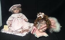 Lot Of 2 Porcelain Baby Dolls By Seymour Mann & Traditions Doll Collection