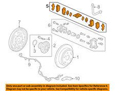 HONDA OEM 05-10 Odyssey Brake-Rear Pads 43022SHJ415