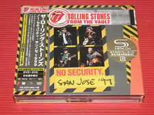 2018 JAPAN ROLLING STONES FROM THE VAULT NO SECURITY BONUS TRACK SHM CD + DVD