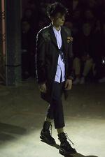 Comme des Garcons Homme Plus Contrast Sleeve Coat Size 48