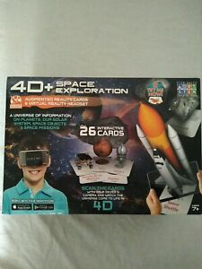 4D + Utopia 360° Space Exploration Augmented Reality Cards & Virtual VR Headset