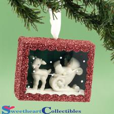 Department 56 Snowbabies 4031920 Sleigh Ride Box Ornament 2013