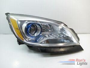 Headlight Headlamp LH Driver RH Passenger PAIR for 12-17 Buick Verano