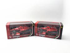 BBURAGO 1:43 2018 FERRARI F1 SF71H SEBASTIAN VETTEL & Kimi Raikkonen Model Set