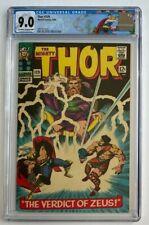 Thor #129 CGC 9.0 The Mighty 1st App Hercules Ares Pluto Zeus Marvel Comics