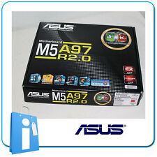 Placa base ATX AMD 970 ASUS M5A97 R2.0 Socket AM3 con Accesorios