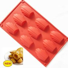 Flexible Madeleine Silicone Cake Baking Mould Pans Shell Biscuit Cookie DIY Mold