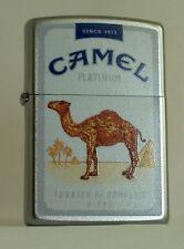CAMEL ZIPPO LIGHTER CAMEL PLATINUM PACK DESIGN CZ #  XXX