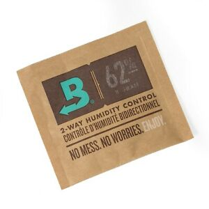 Boveda 62% RH 8 gram Humidipak 2 Way Humidity Control - Single Pack