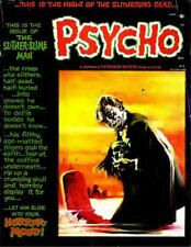 Psycho Magazine 22 Issues 1970s B&W Horror Comics For Adults Free Shipping