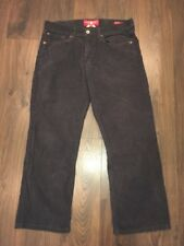 """Lucky Brand Brown """"361 Vintage Straight"""" Corduroy Pants, Size 32"""