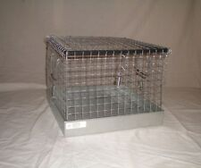 New Single Hole Rabbit Show Transport cage for Large Breed Rabbits 14 x 14 x 11