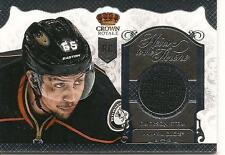2013-14 CROWN ROYALE EMERSON ETEM HEIRS TO THE THRONE ROOKIE JERSEY DUCKS  13-14