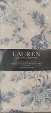 RALPH LAUREN HOME~FIGUEROA FLORAL~SPRING BLUE/TEAL~SET OF FOUR (4) NAPKINS~NEW!