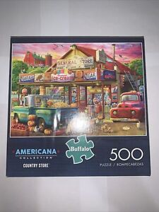 "500 Piece - Buffalo/Americana Puzzle -  ""Country Store"""