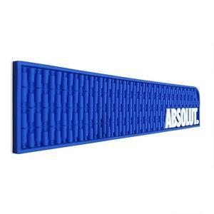 Absolut Rubber Wetstop Bar Drip Mat Runner 600mm x 120mm x 8mm (W x H x D)