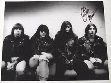 C.J. Ramone RAMONES Signed Autograph 8x10 Photo CJ C. J.