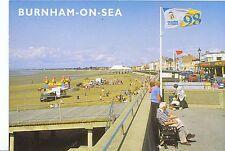 Somerset Postcard - The Esplanade and Sands - Burnham on Sea   AB2319
