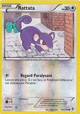 Rattata Reverse-N&B-Frontieres Franchies - 104/149-Carte Pokemon Neuve Français