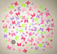 MARTHA STEWART SMALL BUTTERFLIES AND FLOWERS PUNCHES 150 DIE CUTS PUNCHIES