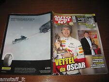 AUTOSPRINT 2011/50=CASCHI D'ORO=VETTEL=MERCEDESS C63 AMG=PUBBLICITA' DUNLOP=